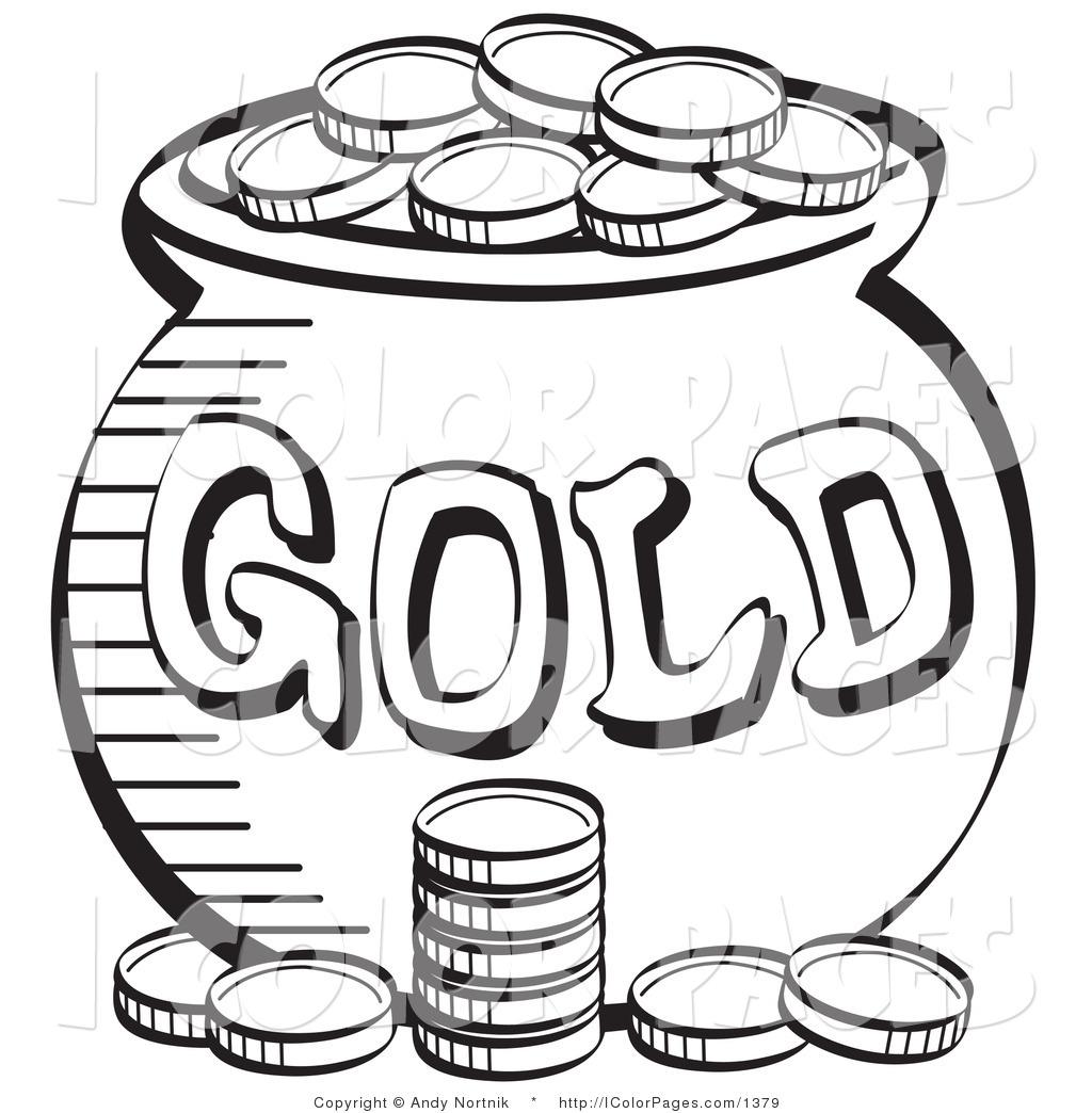 1024x1044 Sant Patricks Money Color Sheet Royalty Free Vector Coloring
