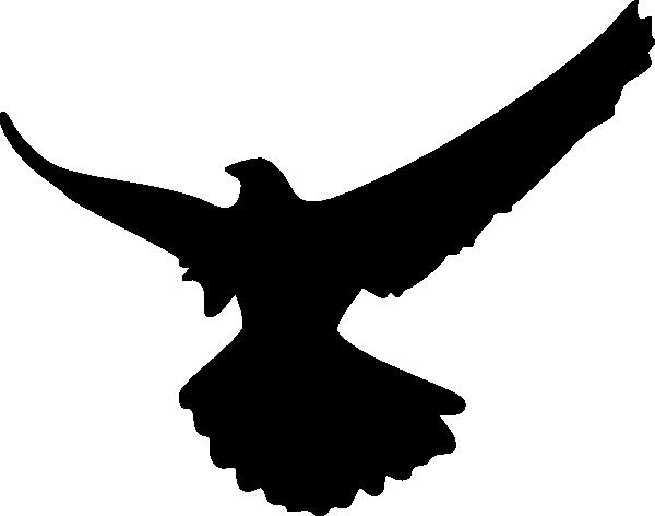 600x472 Bird Of Prey Clipart Flight Silhouette Clip Art