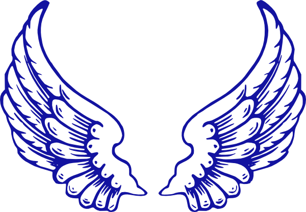 600x416 Falcon Clipart Falcon Wings