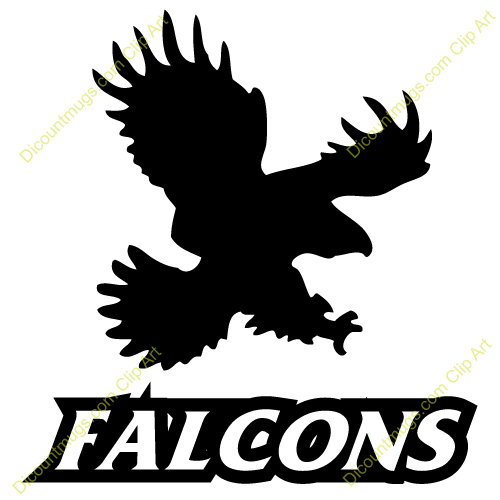 500x500 Peregrine Falcon Clipart Falcon Football