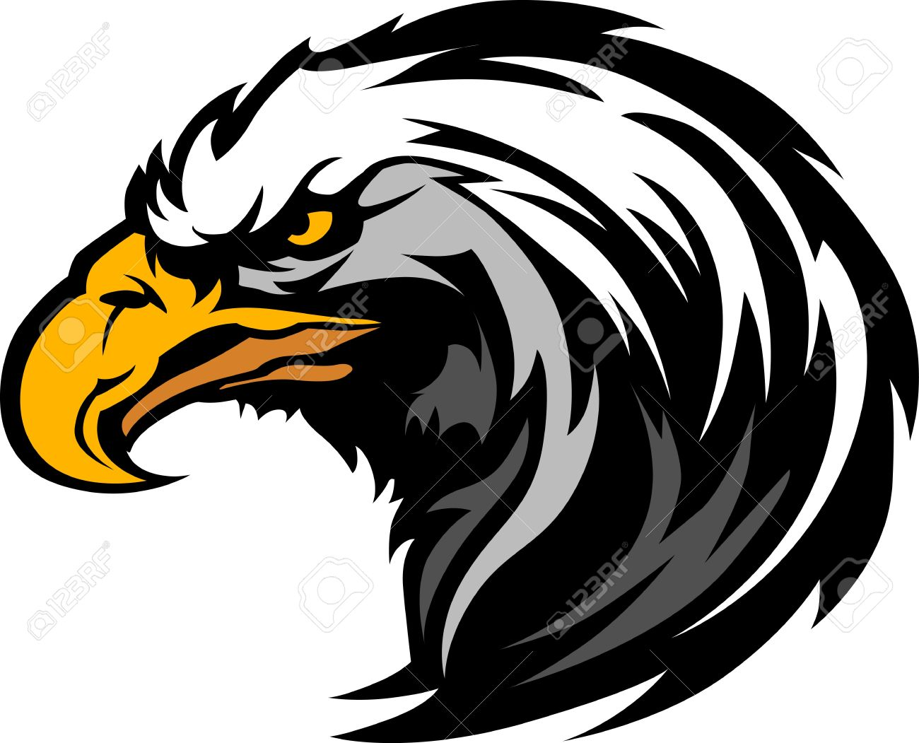 1300x1051 Golden Eagle Clipart Falcon Head