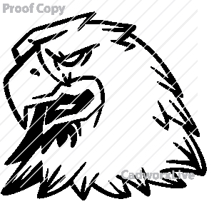 300x300 Raptor Bird Clipart