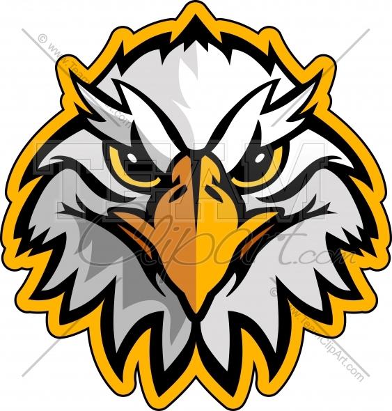 563x590 Clip Art School Mascots Eagles Clipart