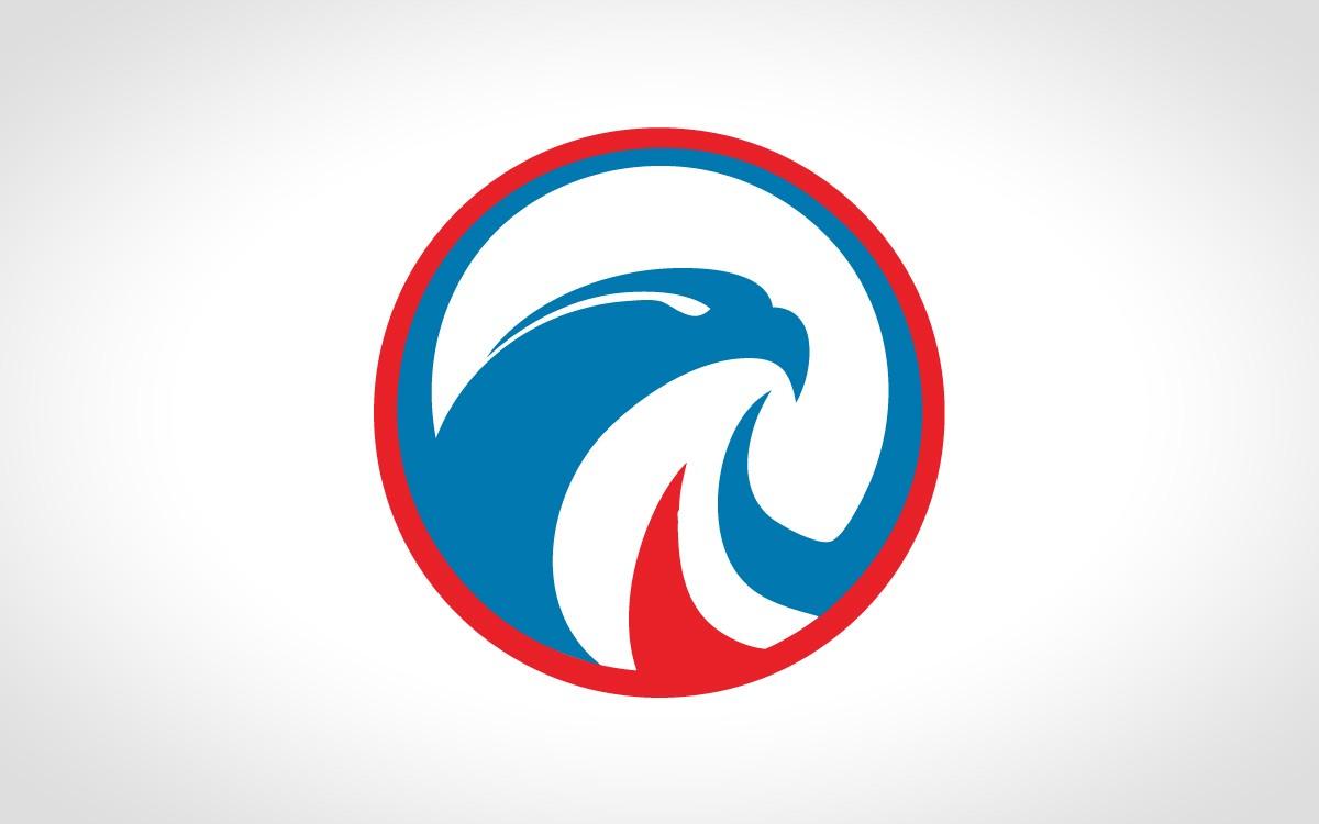1200x750 Crisp Falcon Logo For Sale