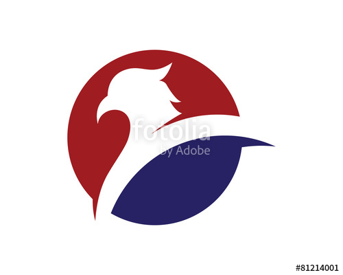 500x400 Falcon Logo Template Stock Image And Royalty Free Vector Files