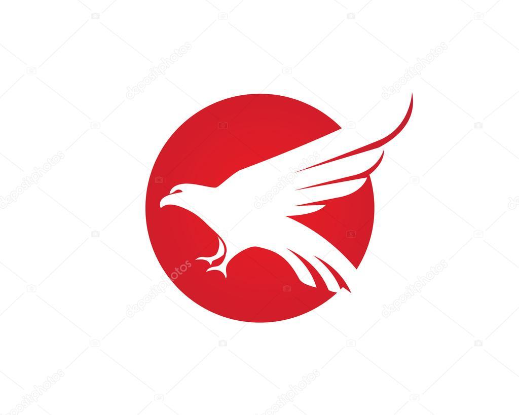 1024x819 Falcon Logo Template Vector Icon Stock Vector Elaelo