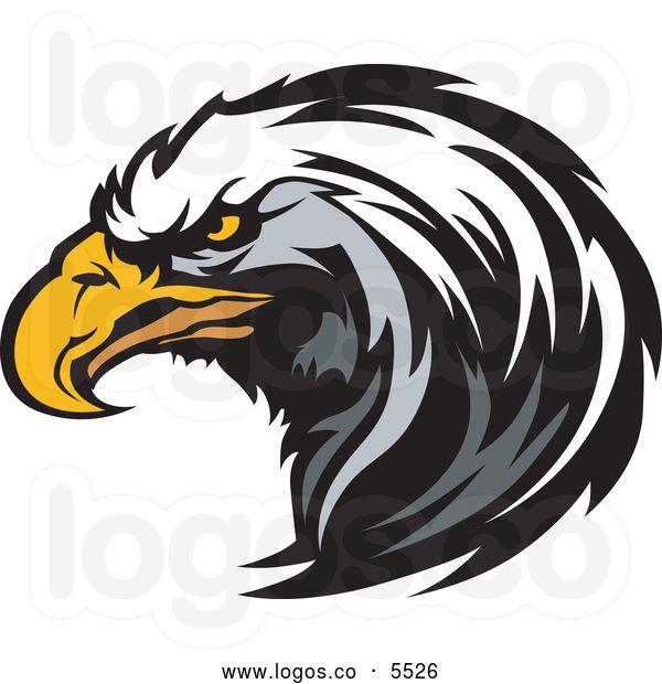 Falcon Logo Clipart