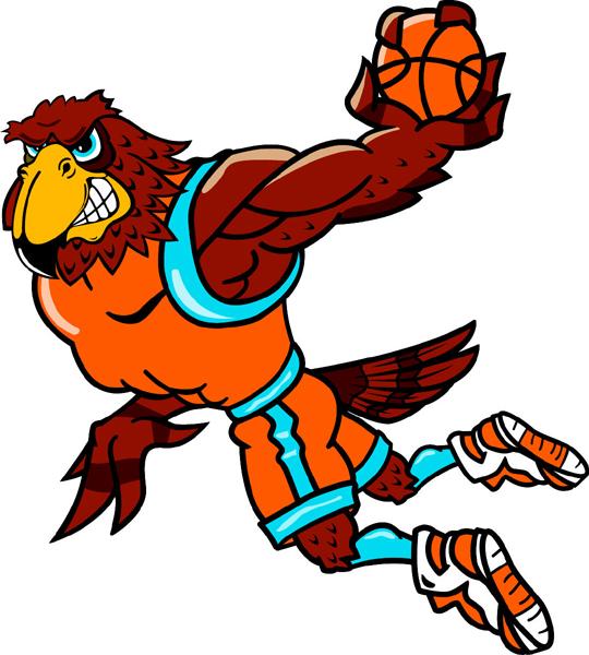 540x600 Falcon Mascot Basketball Falcon School Mascot School