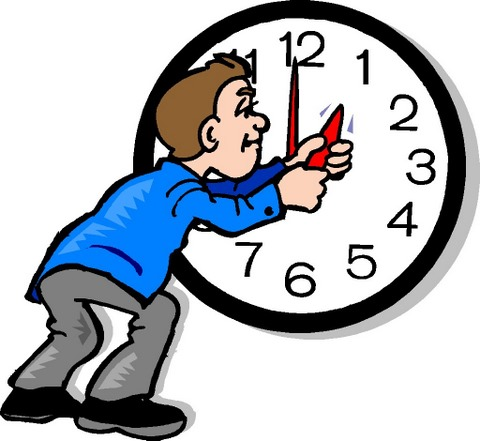 480x441 Time Change Clipart