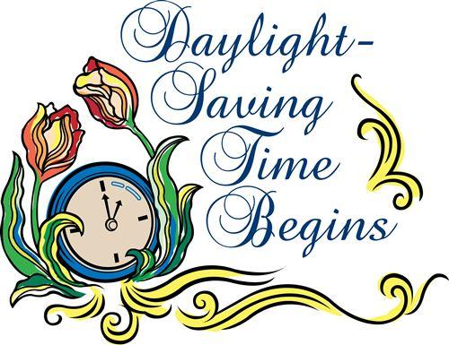 500x385 Free Daylight Savings Time Clipart