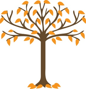 292x300 Clip Art Fall Tree 101 Clip Art