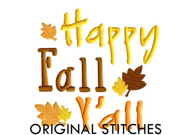 648x456 Happy Fall Clip Art