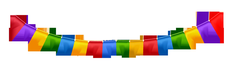 3063x908 Birthday Party Banner Clip Art