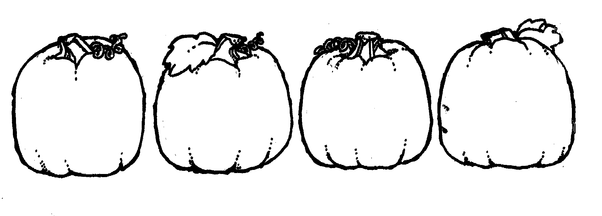 1920x689 Pumpkin Black And White Clip Art Free