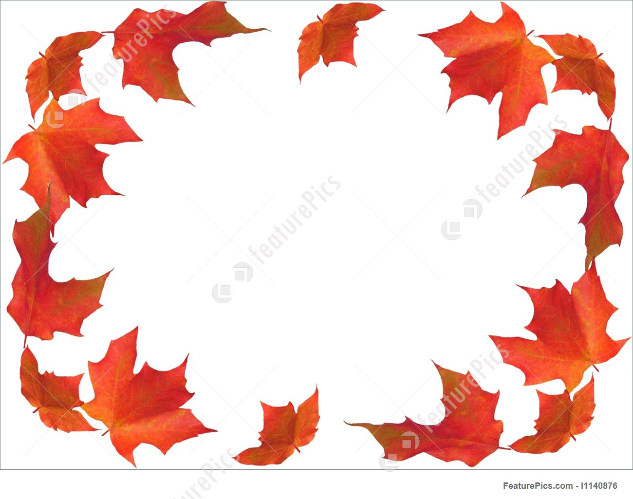 1300x1025 Fall Border Stock Photo I1140876