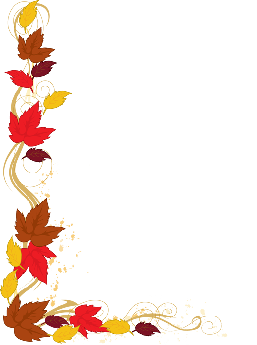 523x702 Fall Leaves Border Clipart Clipart Panda