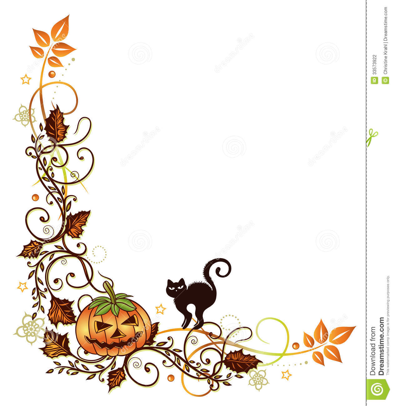 1261x1300 Halloween Border Clipart