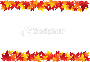 380x263 Free Fall Clip Art Borders