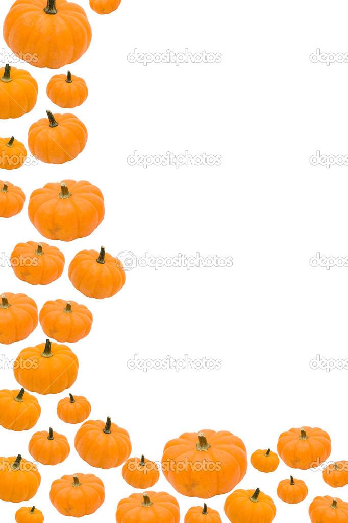 682x1023 Fall Pumpkin Border Clipart