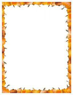 236x304 Printable Jack O' Lantern Border. Free Gif, Jpg, Pdf, And Png