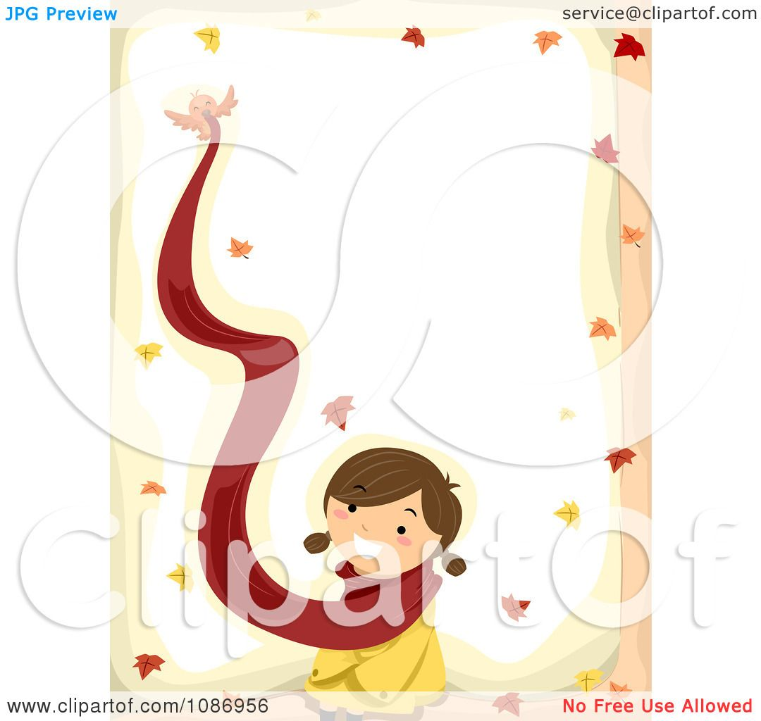 1080x1024 Royalty Free (Rf) Fall Border Clipart, Illustrations, Vector