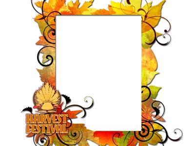 400x300 Fall Festival Border Clip Art Clipart