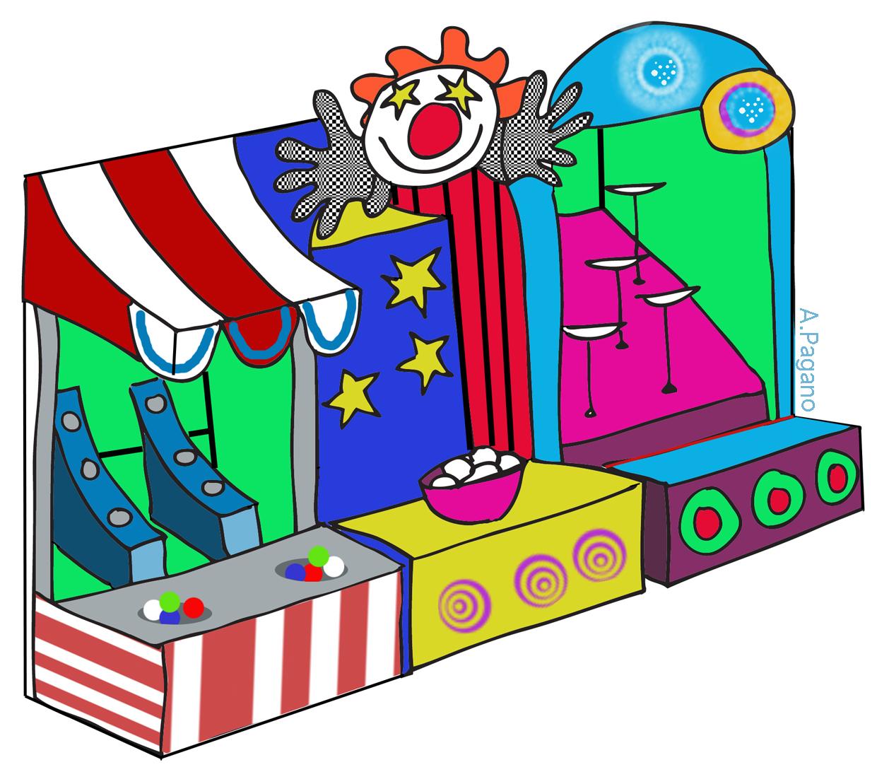 1258x1109 Carnival Games Clip Art