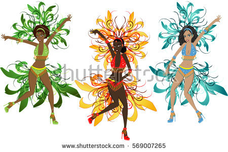 450x300 Costume Clipart Brazilian Carnival