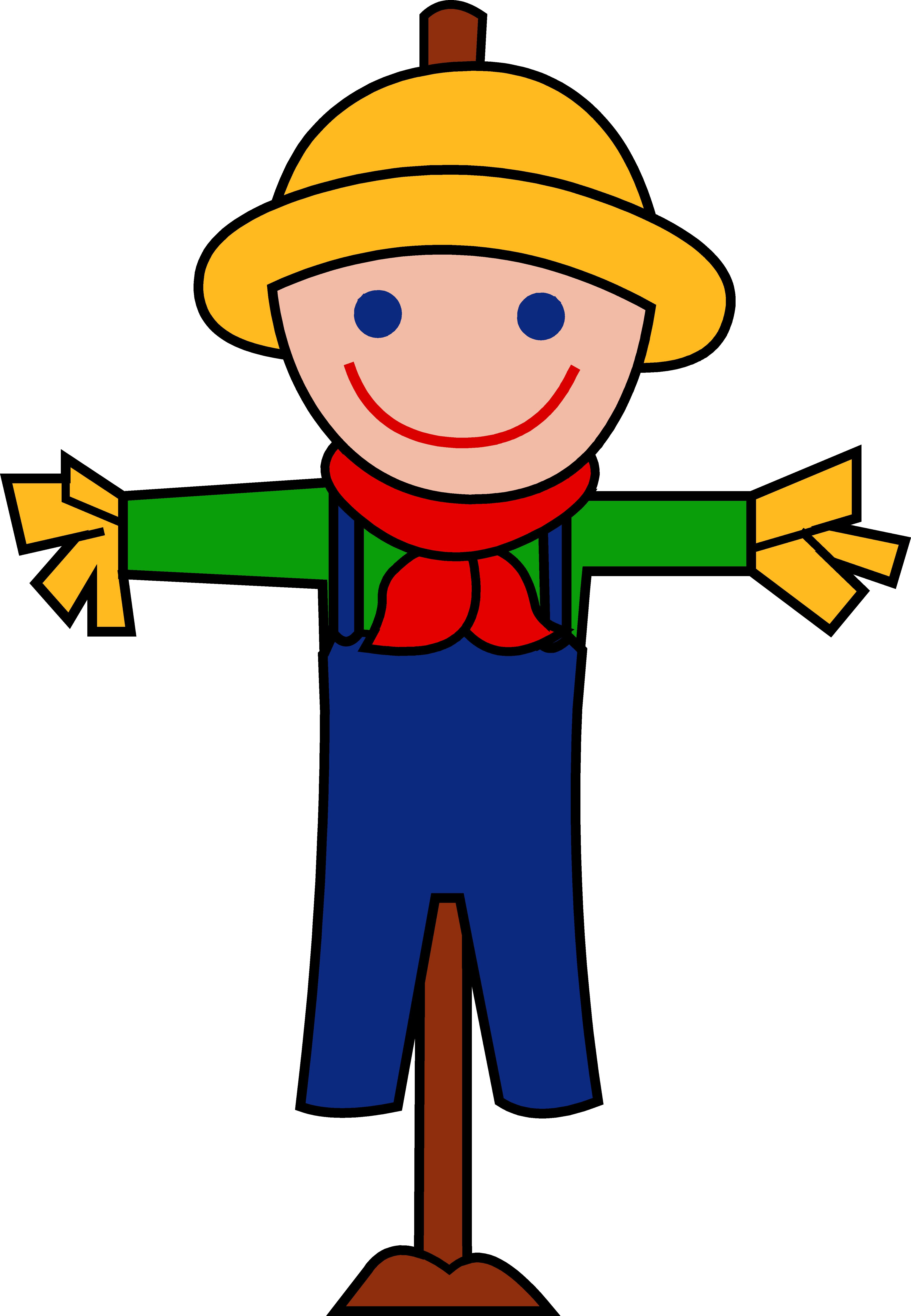 4674x6750 Cute Happy Autumn Scarecrow