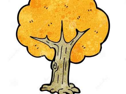440x330 Fall Cartoon Trees Vector Free Vector 4vector, Fall Tree Cartoon