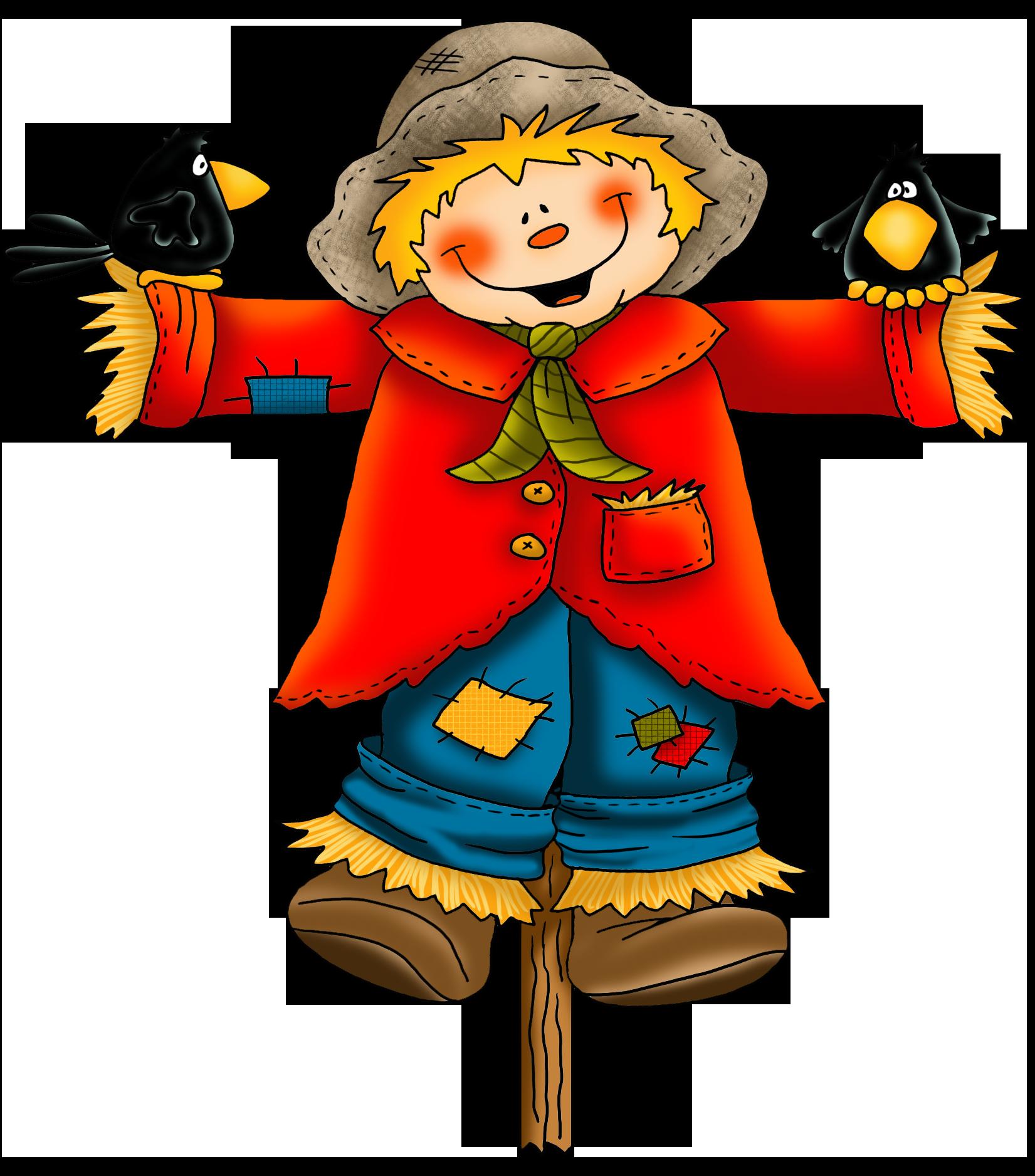 1651x1876 Cartoon Scarecrow Clipart