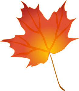 261x300 Fall Leaves Clipart