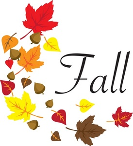 274x300 Free Fall Autumn Clip Art Free