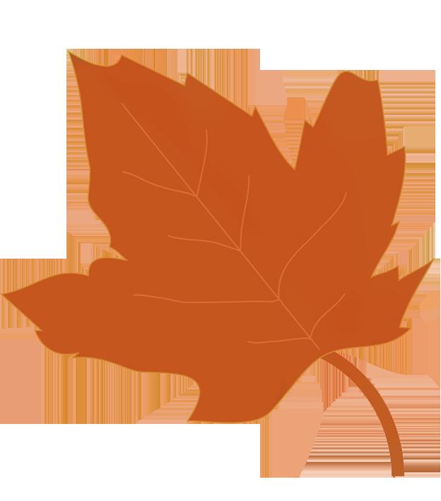 624x709 Fall Leaves Clip Art