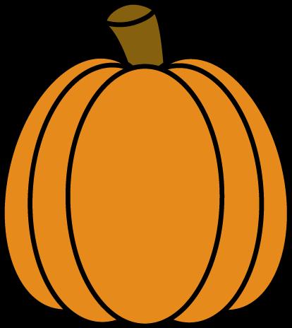 414x464 Autumn Pumpkin Clip Art