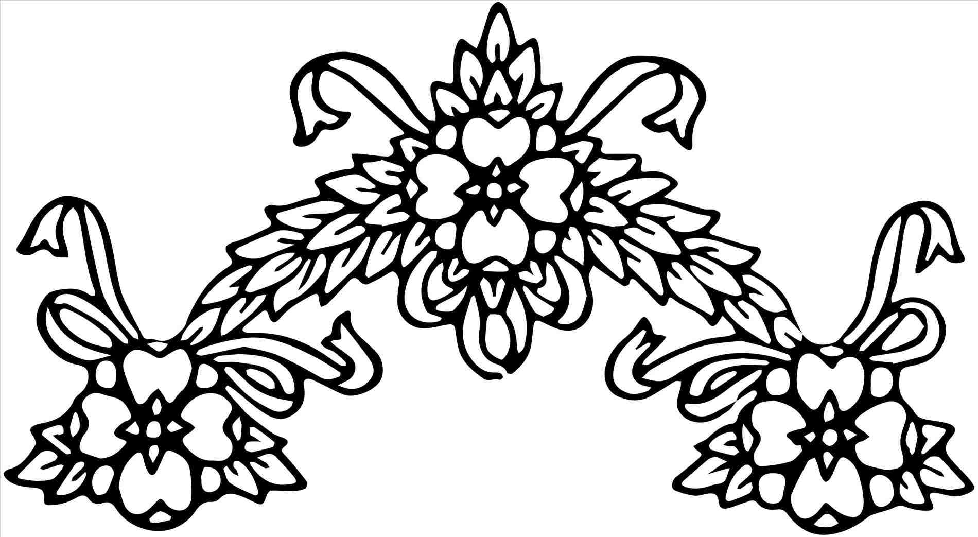 1900x1043 Lily Wedding Decorations Clipart Decor Pencil And In Color
