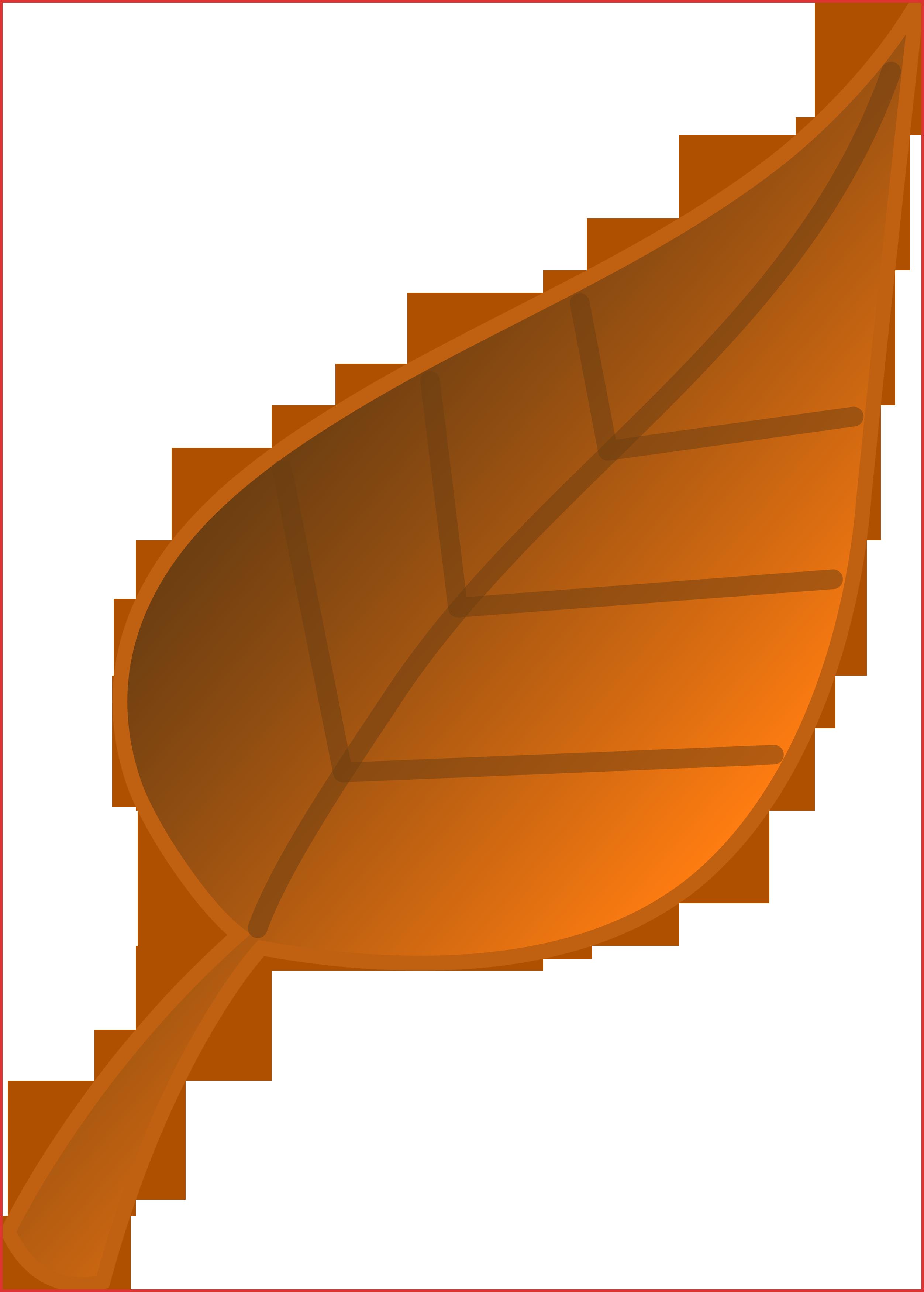 2504x3500 Lovely Fall Leaf Border Resume Pdf