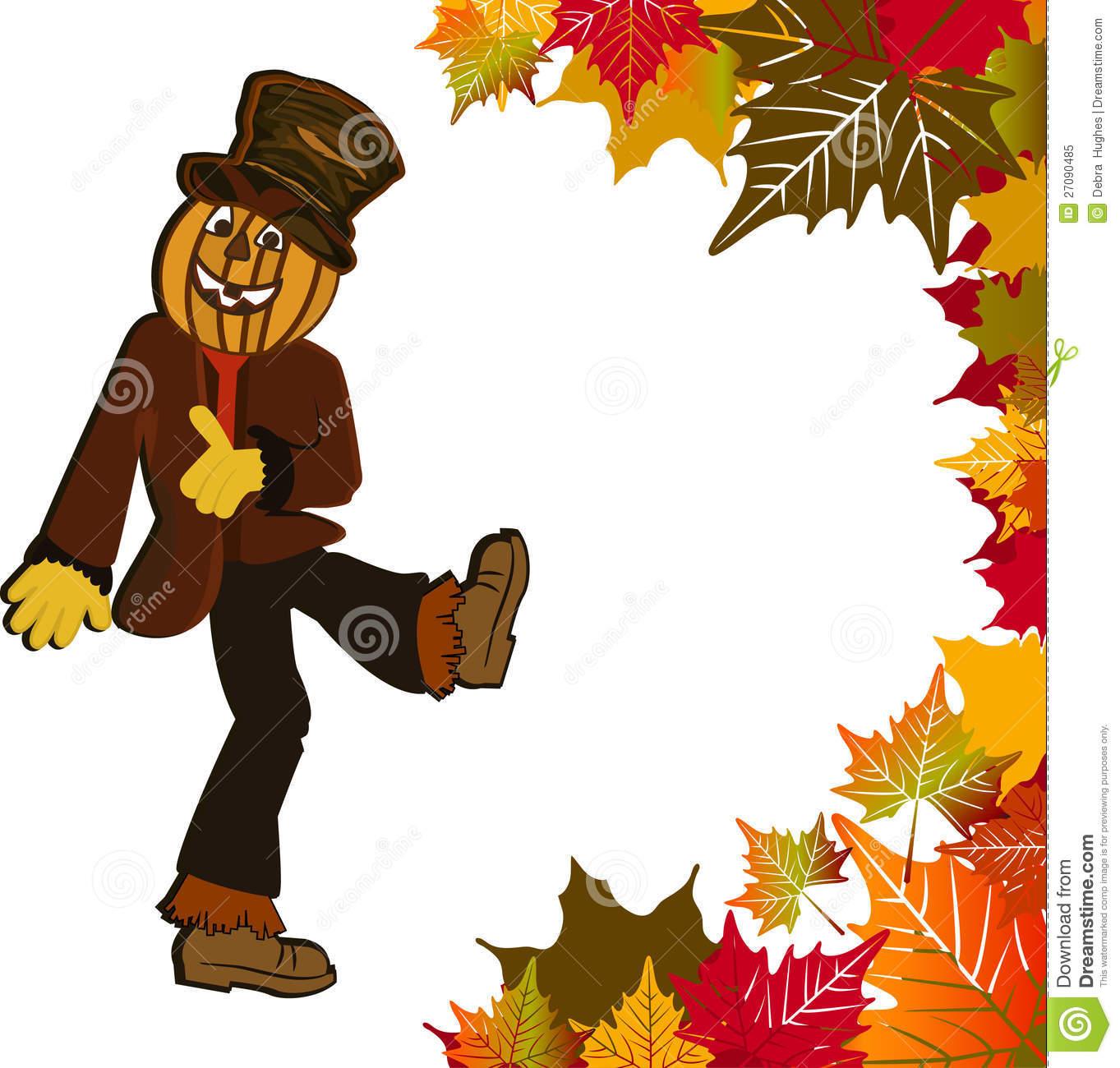 1363x1300 Scarecrow Clipart Border