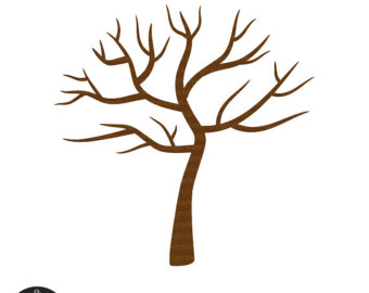 340x270 Leaves Clipart Tree Drawing