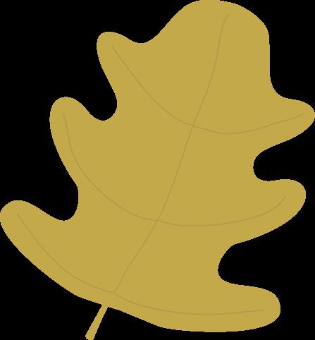 447x482 Gold Oak Autumn Leaf Clip Art