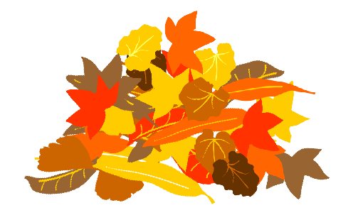 510x303 Graphics For Pile Fall Leaves Graphics