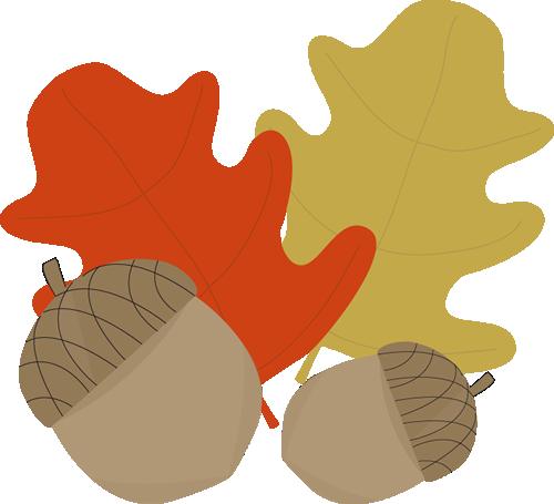 500x455 Fall Leaf Clip Art