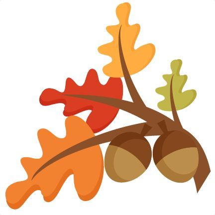 Fall Leaves Banner Clipart