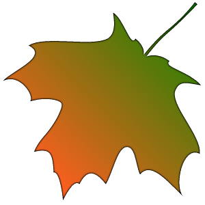 300x300 Top Fall Leaf Clip Art Free Clipart Image