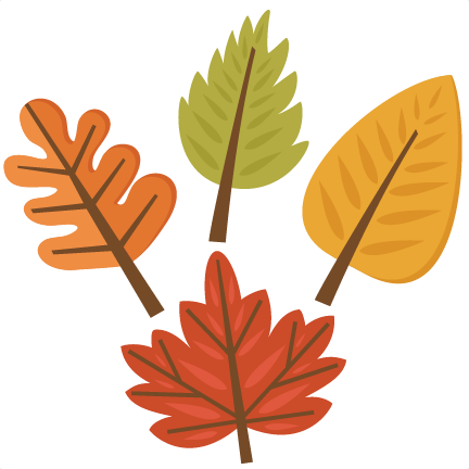 432x432 Fall Leaf Set Svg Cutting Files For Scrapbooking Fall Svg Cut