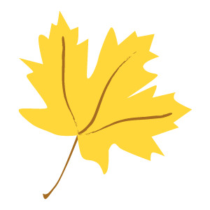 300x300 Fall Leaves Clipart
