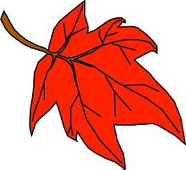 268x245 Free Autumn Leaves Clipart