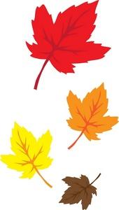 170x300 Autumn Fall Leaves Clipart