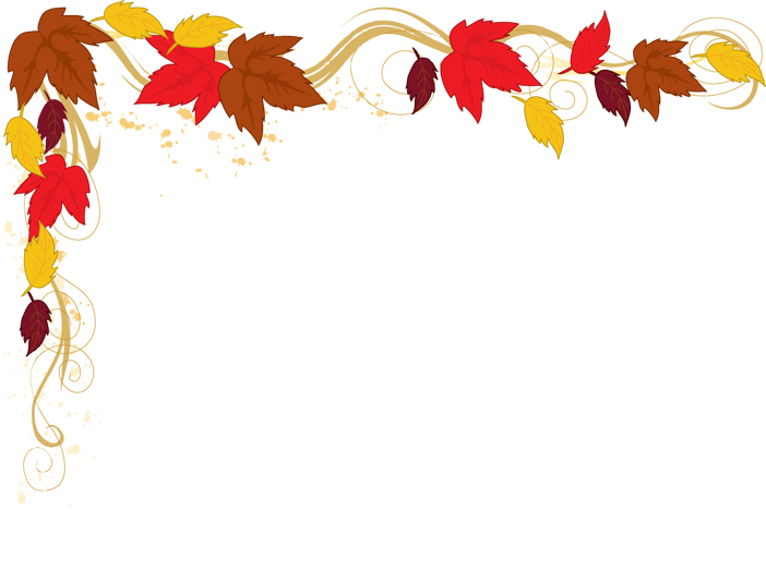 702x523 Fall Border Autumn Leaves Clipart Free Images