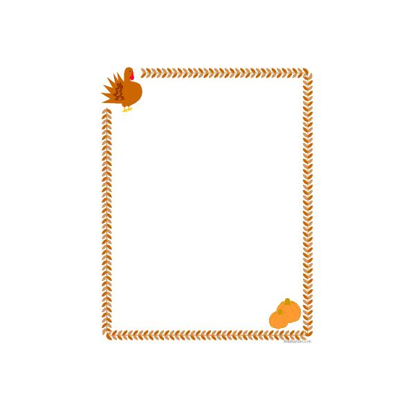600x600 Free Fall Leaf Borders Make A Gorgeous Autumn Publication Using